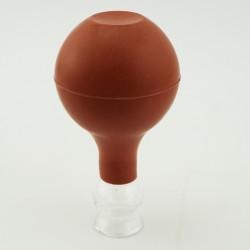 Szklana bańka próżniowa z gruszką - 1,5 cm