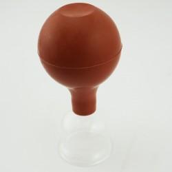 Szklana bańka próżniowa z gruszką - 3,5 cm