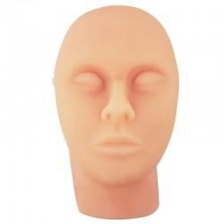 Silikonowy model twarzy do ćwiczenia nakłuć
