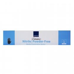 Rękawiczki nitrylowe - jednorazowe - czarne