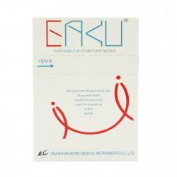 0,14 x 15 mm - pak. po 1 szt. z prow - EAKU Plastikowe igły do akupunktury