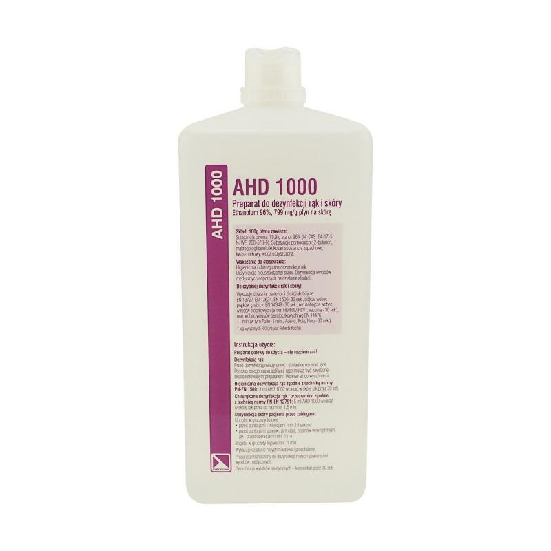 MPłyn do dezynfekcji rąk i powierzchni AHD 1000 LYSOFORM - 1L