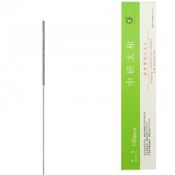 0,40 x 125 mm - pak. po 10 szt. bez prowadnic - igły do akupunktury