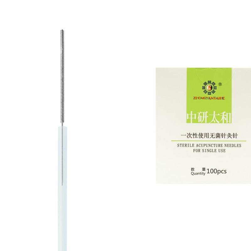0,18 x 13 mm - pak. po 1 szt. z prowadnicą - igły do akupunktury