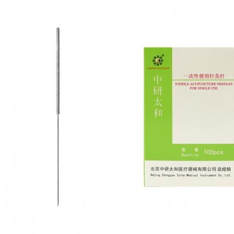 0,25 x 25 mm - pak. po 1 szt. bez prowadnicy - igły do akupunktury