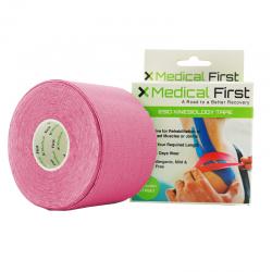 Medical First - taśma kinezjologiczna - tejp różowy