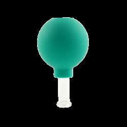 Bańka gumowo-szklana do masażu próżniowego twarzy - 1,5 cm