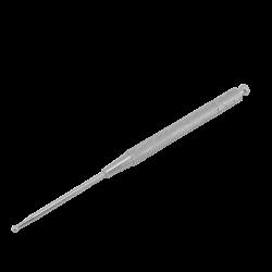 Igła uszna na sprężynie - 12,5 cm - stalowa
