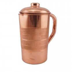 Dzbanek miedziany do oczyszczania wody - 1250 ml - Sattva