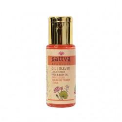 Olejek do twarzy i ciała Kwiat lotosu - 50 ml - Sattva