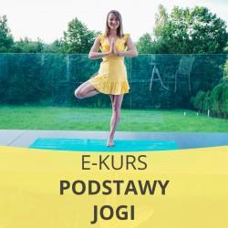 E- Kurs Podstawy jogi dla początkujących