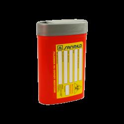 Pojemnik na igły - odpady medyczne - 0,2 l