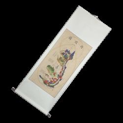 Plakat - alchemia wewnętrznego krajobrazu Neijing - 50 x 134 cm