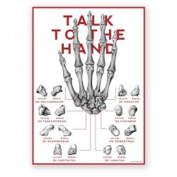 Plakat anatomiczny - ręka - 50 x 70 cm