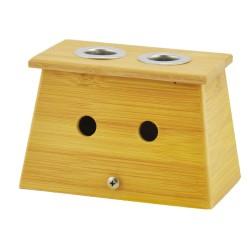 Bambusowe pudełko na 2 moksy