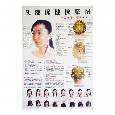 Plakat dłoni - 63 cm x 45 cm