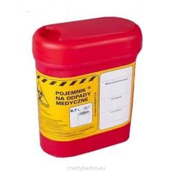 Pojemnik na odpady medyczne- 0,7l