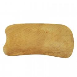Drewniany przyrząd do scrapingu - gua sha - Prostokąt