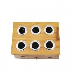 Bambusowe pudełko na 1 moksę